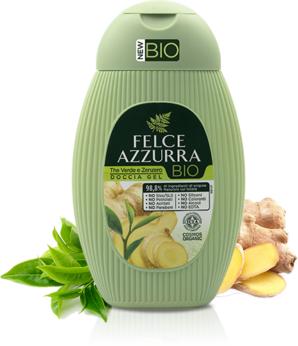Doccia Gel The Verde e Zenzero