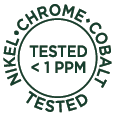 Tested < 1 PPM
